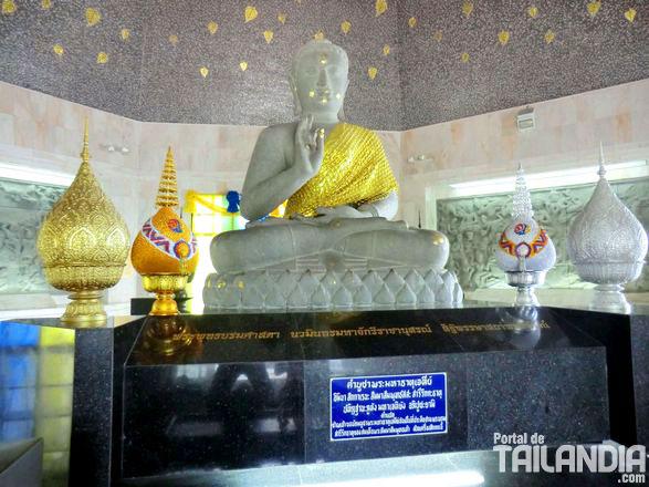 Buda interior de las Pagodas