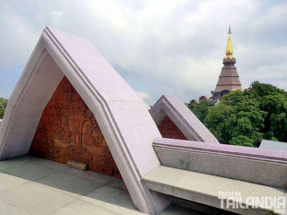 Vistas desde el templo de la cima