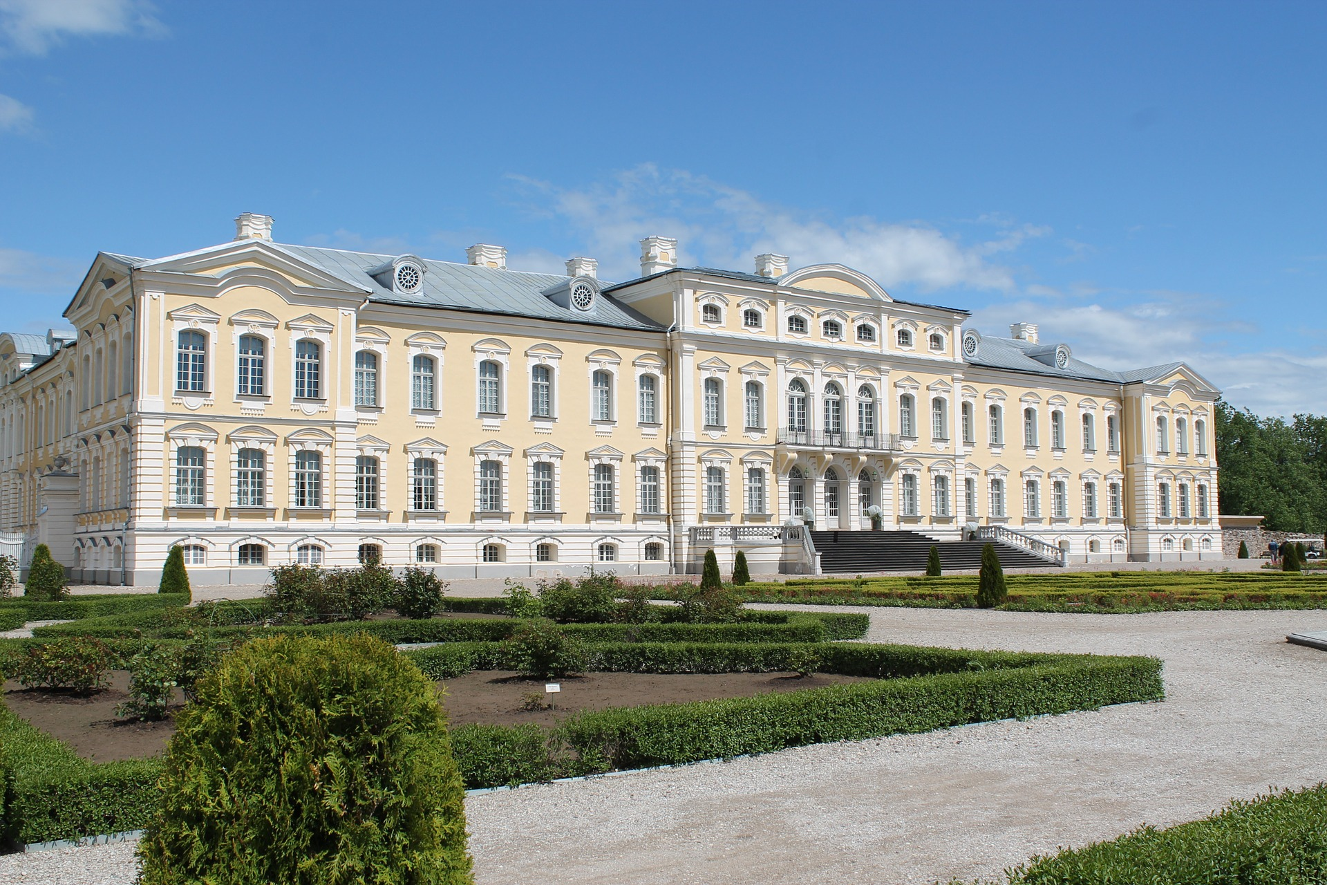 Palacio de Rundale-Letonia