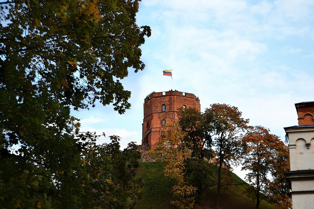 Arquitectura medieval en Vilnius