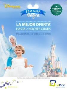 Cartel Semana Mágica Disneyland París