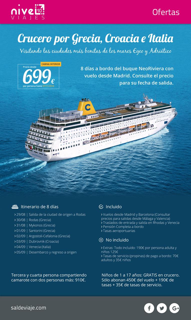 Oferta Islas Griegas Neo Riviera