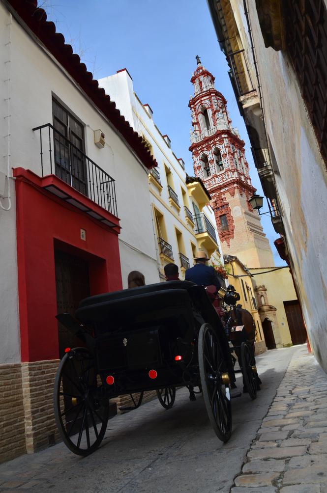 Torre en centro histórico