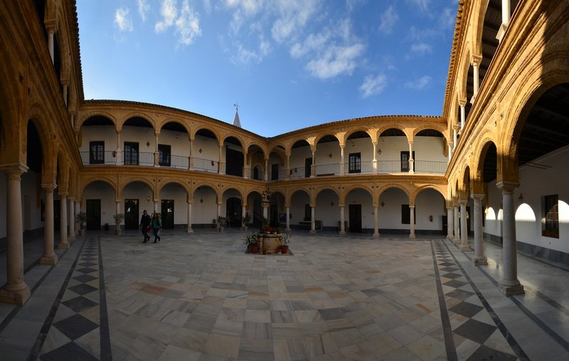 Patio de la universidad (foto Andalucia.org)